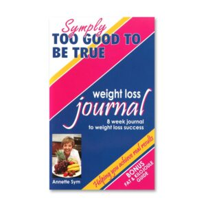 8 week weight loss journal