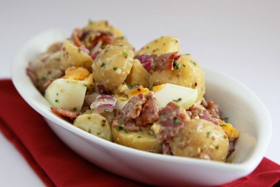 bacon and egg potato salad symply too good to be true book 6