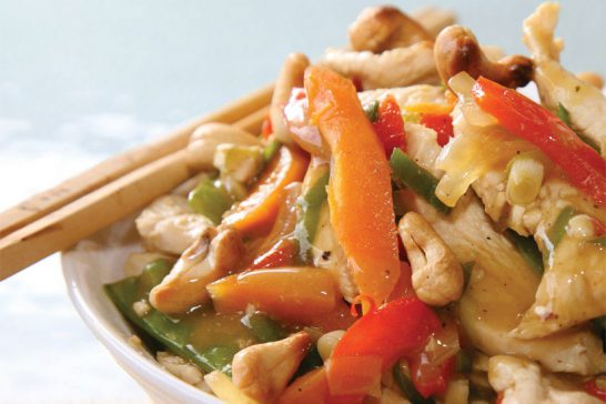 chicken cashew stir fry symply too good cookbook 2