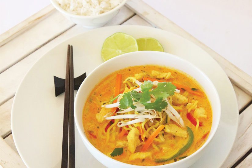 chicken laksa symply too good cookbook 3