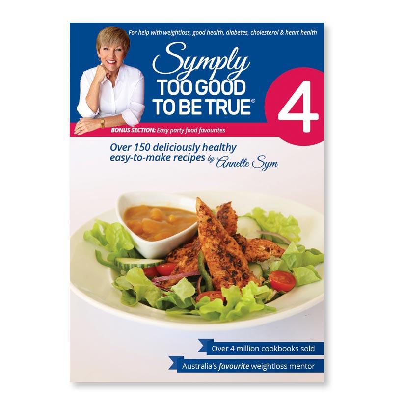 Symply Too Good Cookbook 4