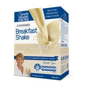 Symply Creamy Vanilla Breakfast Shake