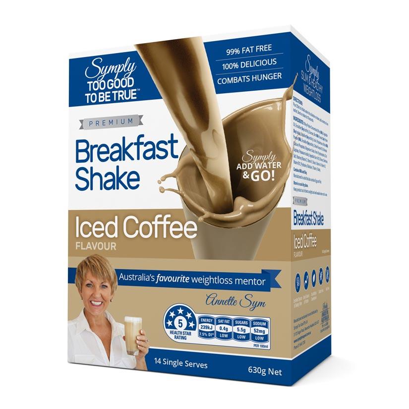 Symply Iced Coffee Breakfast Shake