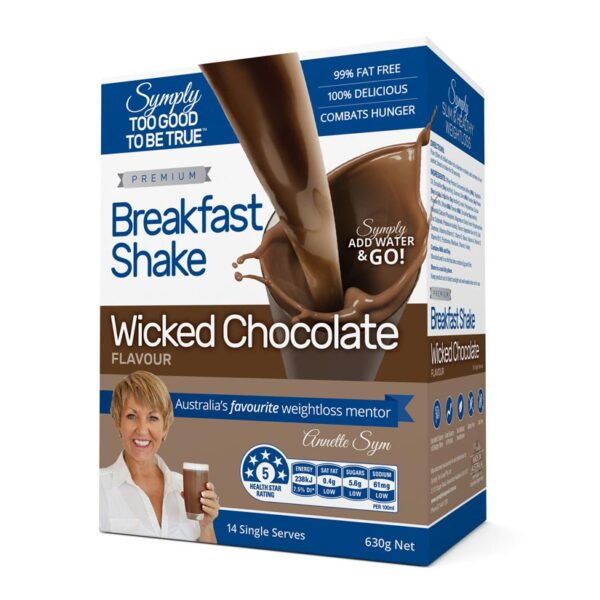 Symply Wicked Chocolate Breakfast Shake