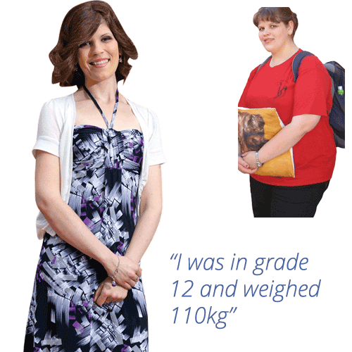 Melissa lost 55kg with Symply Too Good
