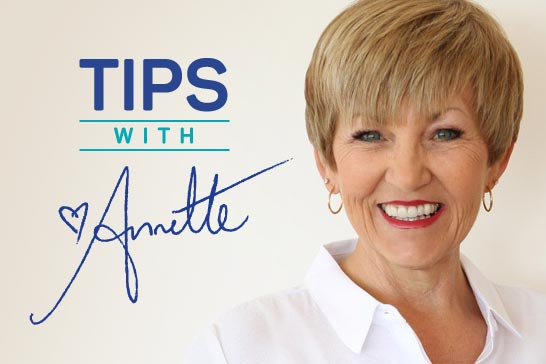 Annette Sym's Tips