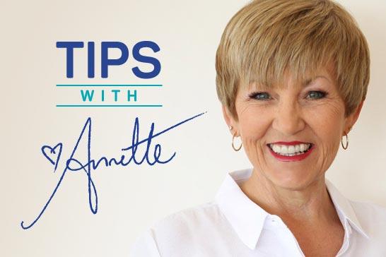 Annette Sym's Tips