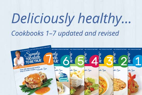 Symply Too Good To Be True Cookbooks for deliciously healthy weight loss