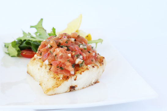 Fish Bruschetta Recipe