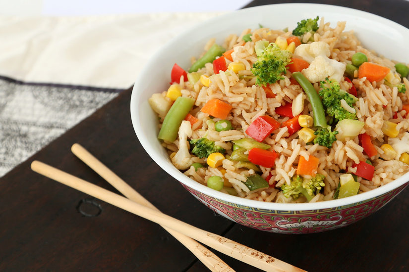 Vegetable Fried Rice book 1