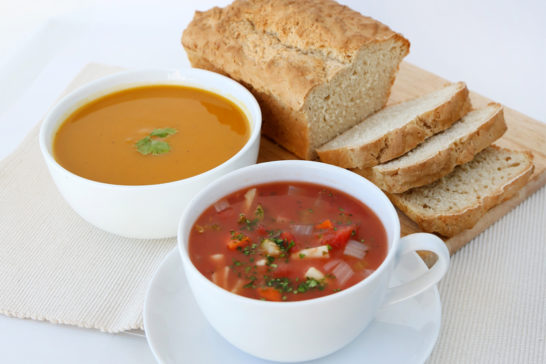 healthy homemade soup
