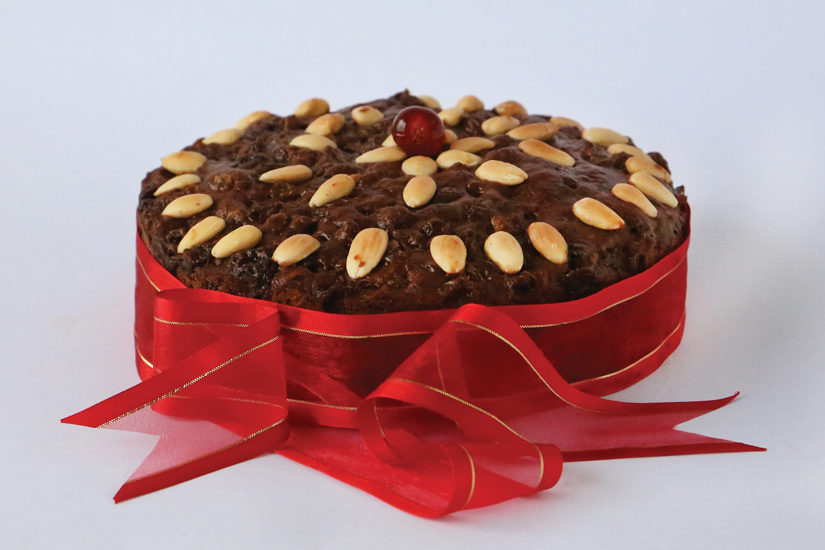 Tropical Christmas Cake