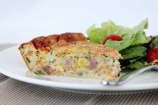 Ham and Corn Slice