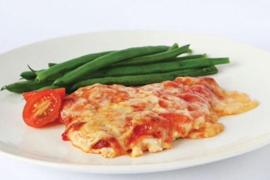 Chicken Parmigiana book 2
