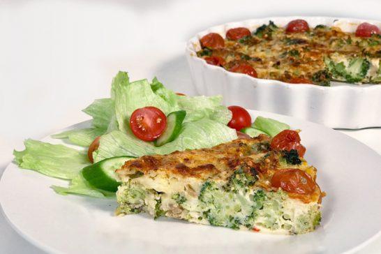 Cheese and Broccoli Slice