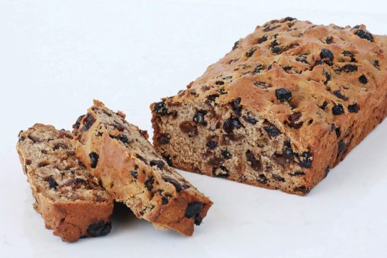 Aunty Hazel's Fruit Loaf cooking for 1 or 2 people