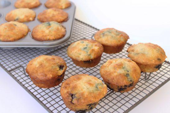 Blueberry yoghurt muffin recipe
