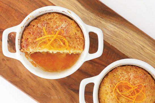 self saucing sticky orange pudding