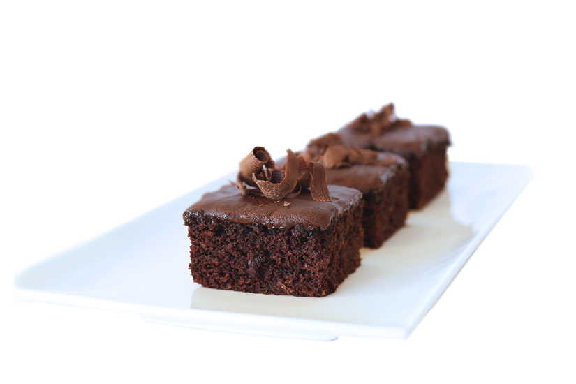 RICH CHOCOLATE SQUARES