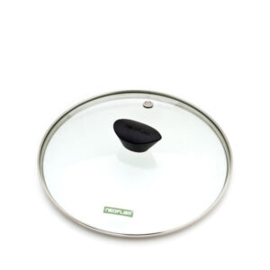 24cm clear glass fry pan or saucepan lid