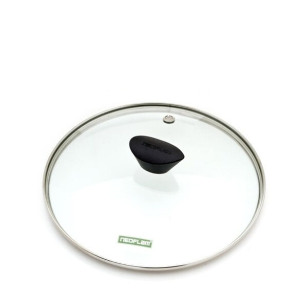 24cm clear glass fry pan or saucepan lid