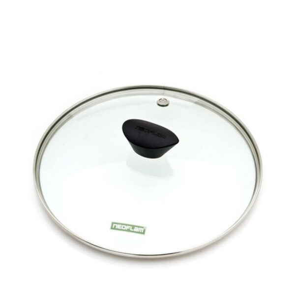 28cm Neoflam clear glass fry pan or saucepan lid