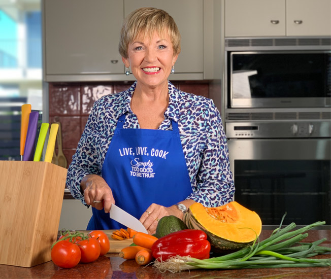 Annette Sym Cooking Show Facebook