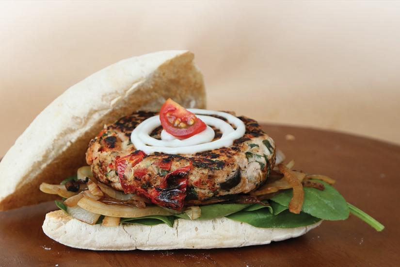 Italian Chicken Burger