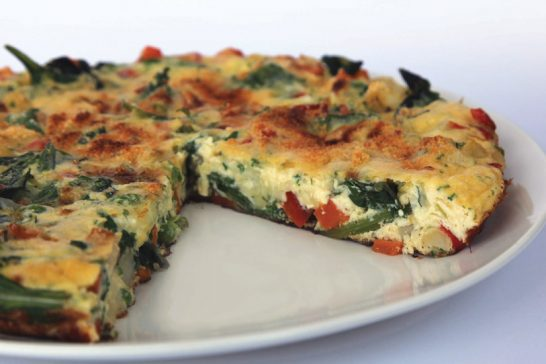 Healthy Vegetable Frittata recipe