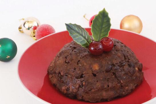 Christmas pudding for 2 people