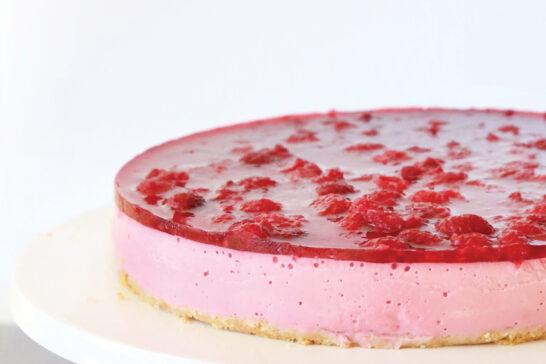 healthy raspberry cheesecake recipe