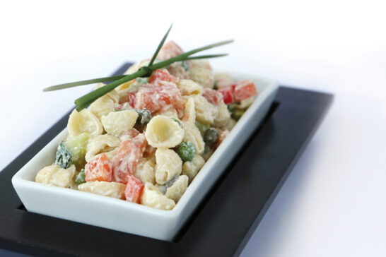 healthy smoked salmon pasta salad recipe