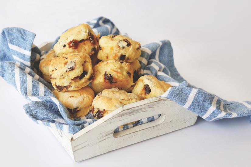 healthy orange and date scone recipe