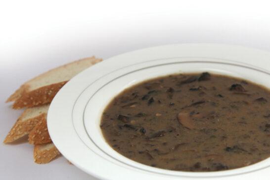 Healthy Cream of Mushroom Soup recipe