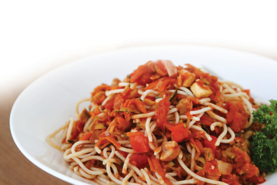 healthy veggie bolognaise recipe